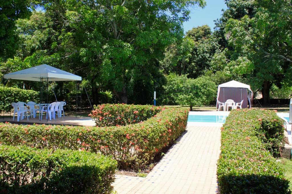 Jardines de la cabaña en Melgar