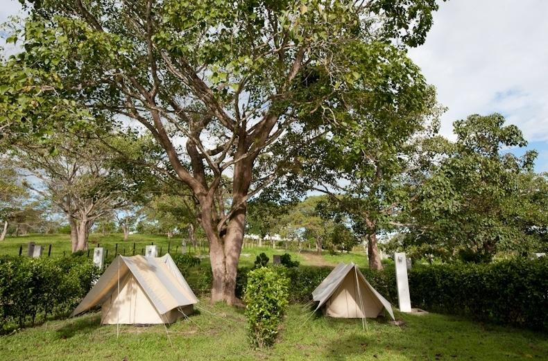 Jardín Camping Hacienda Napoles