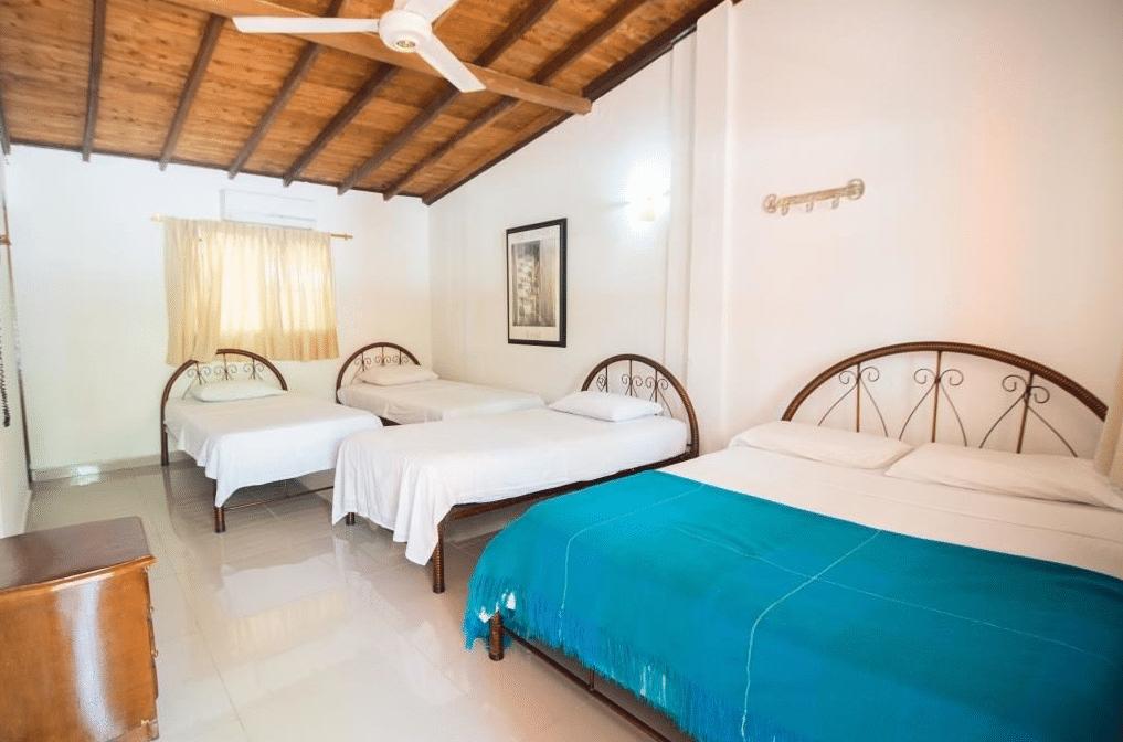 Interior Hotel Lago Azul