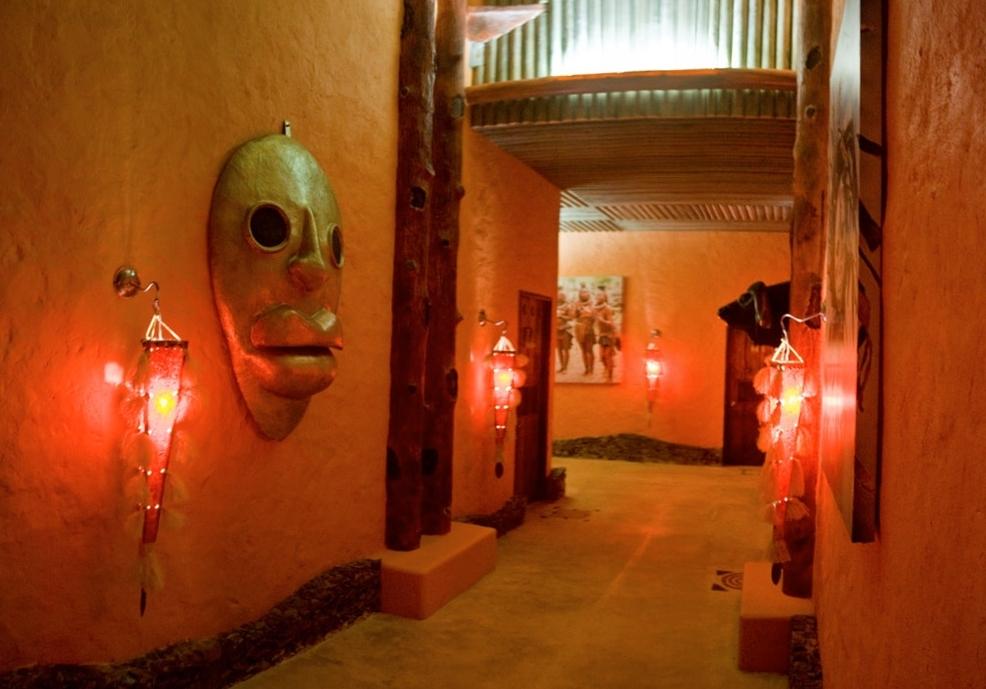 Pasillos Hotel África